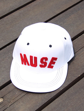 muse snapback ; wh [ 4color / free size ] 뮤즈 스냅백