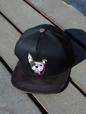 puppy coloring snapback [ 1color / free size ] 강아지 배색 스냅백